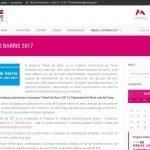 TOTA LA INFORMACIÓ DE LES AGENTS CÍVIQUES EN UN NOU APARTAT DE LA WEB DEL PLA DE BARRIS