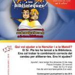 """LES BIBLIOTEQUES JOAN MIRÓ S'ADHEREIXEN A LA INICIATIVA """"SUPERNIT A LES BIBLIOTEQUES"""""""