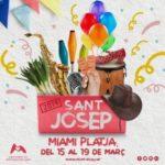 MIAMI PLATJA CELEBRARÀ LES FESTES DE SANT JOSEP DEL 15 AL 19 DE MARÇ