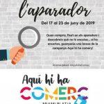 COMENÇA L'ACCIÓ COMERCIAL TROBA L'ERROR A L'APARADOR