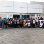 PROP DE 50 PERSONES PARTICIPEN EN LA PRIMERA SORTIDA DEL PROGRAMA CAMINEM PER MIAMI PLATJA